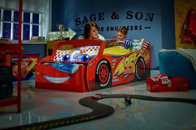 Cars Disneybett für Kinder