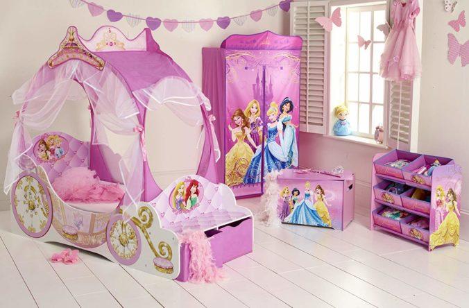 Disneyprinzessinnen Bett