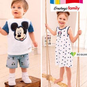Ernsting's Family: Neue Disneymode ab 6,99€