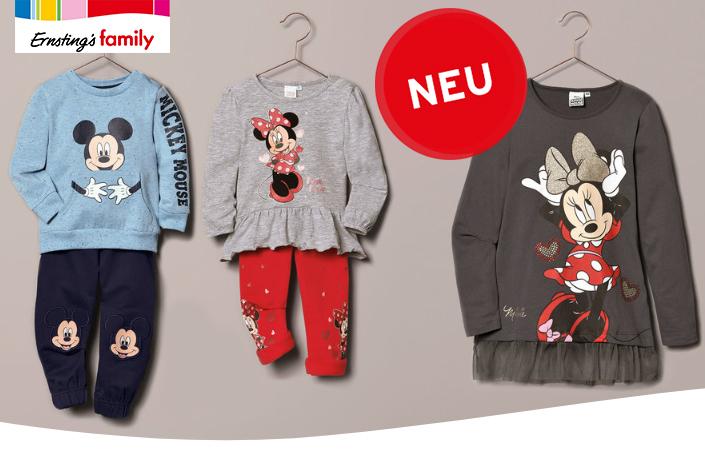 Mickey und Minnie Mouse von Ernsting's Family Mode