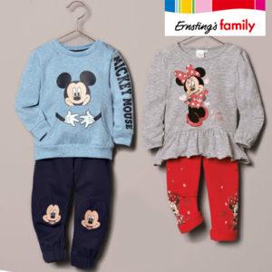 Ernsting's Family: Neue Mickey und Minnie Mouse Mode ab 7,99€