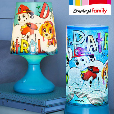 Ernsting's Family Paw Patrol Lampen