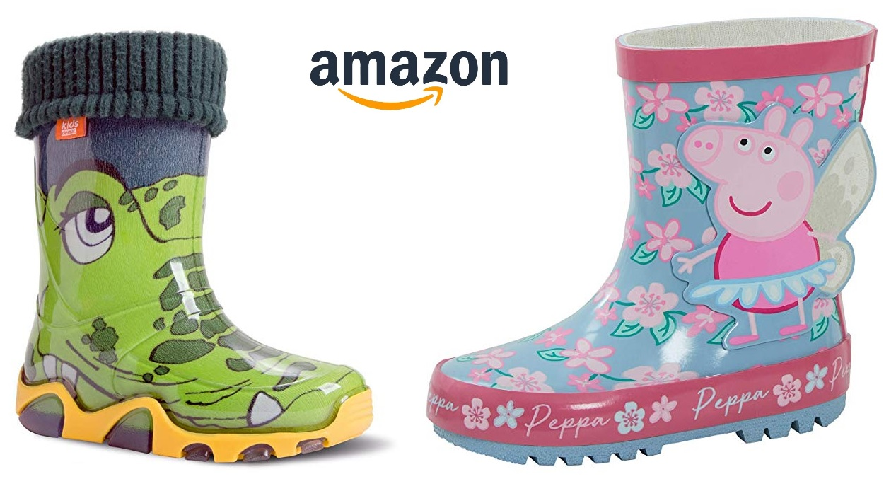 Kindergummistiefel von Amazon