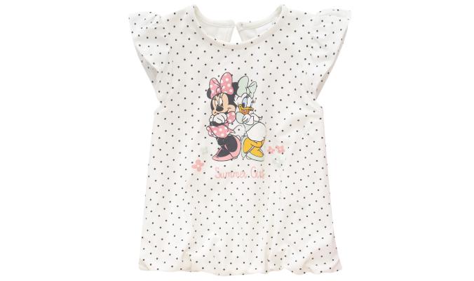 Minnie Maus T-Shirt mit Punkte-Allover