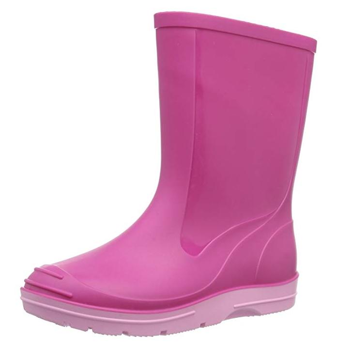 Pinker Regenstiefel für Kinder