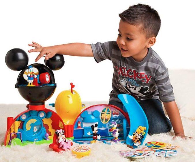 Disney Store Micky Maus Wunderhaus Spielset