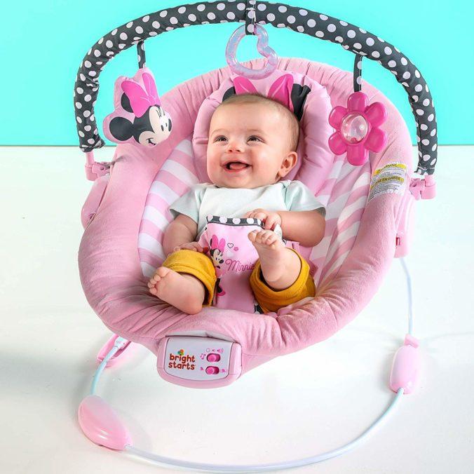 Minnie Maus Wippe mit Baby