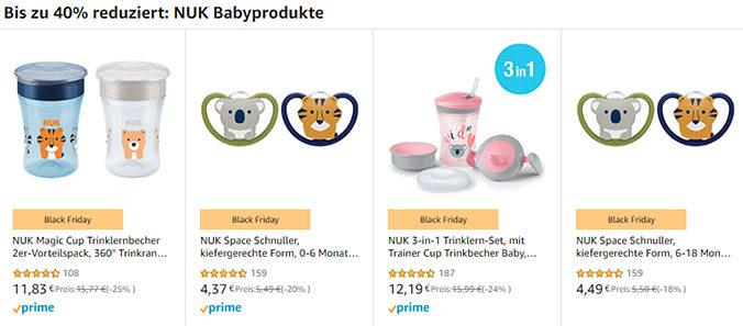 NUK Produkte bei Amazon