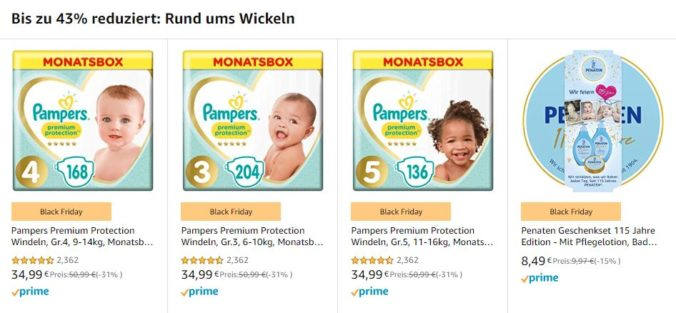 Pampers Rabatt Amazon