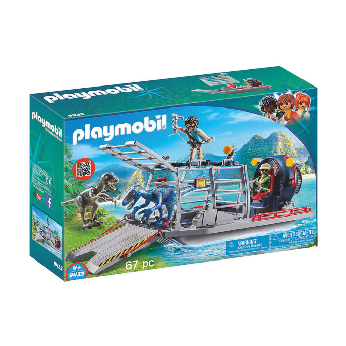 Playmobil Propellerboot