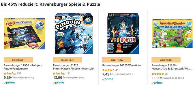 Ravensburger Spiele bei Amazon