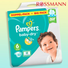 Pampers baby dry big pack
