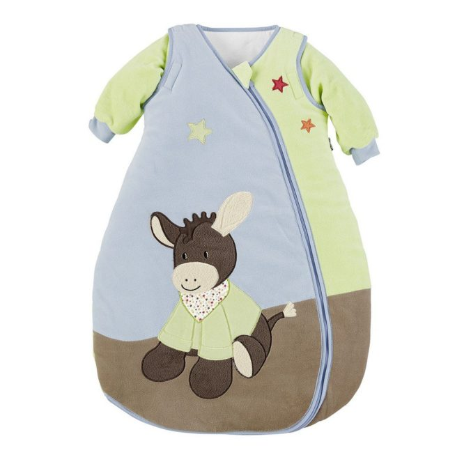 Schlafsack mit Eselprint