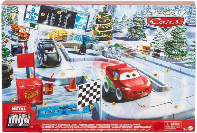 Cars Adventskalender für Kinder
