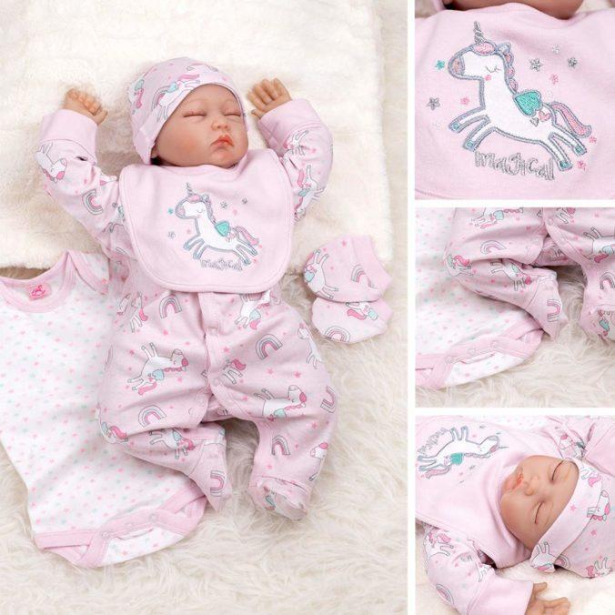 Baby in Einhornset