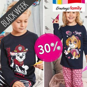 Ernsting's Family: 30% Rabatt beim Black Freuday – Black Week Special