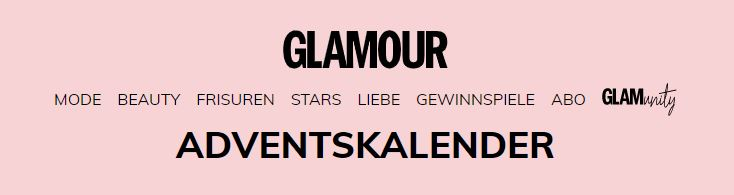 Glamour Adventskalender 2019