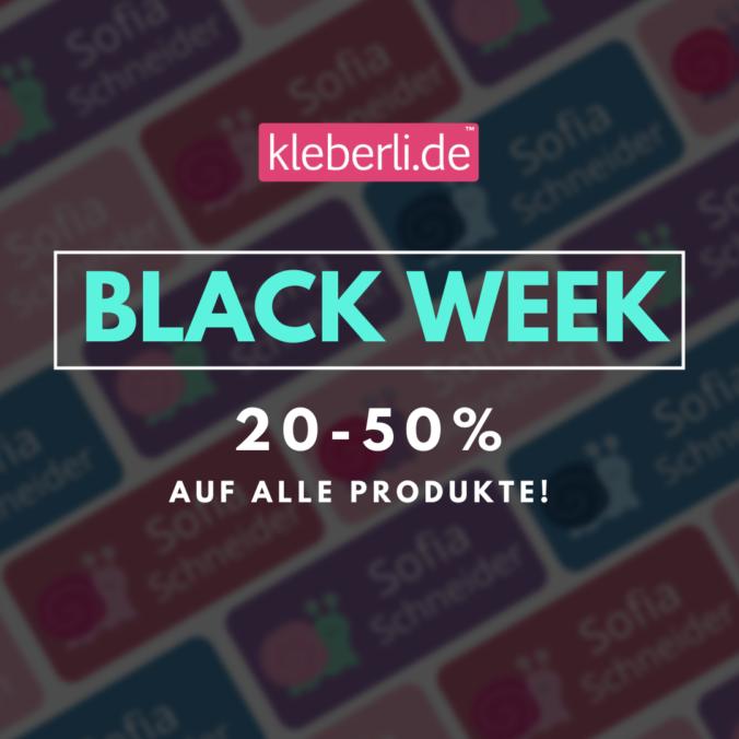 kleberli black week