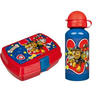 Paw Patrol Brotdose und Flasche
