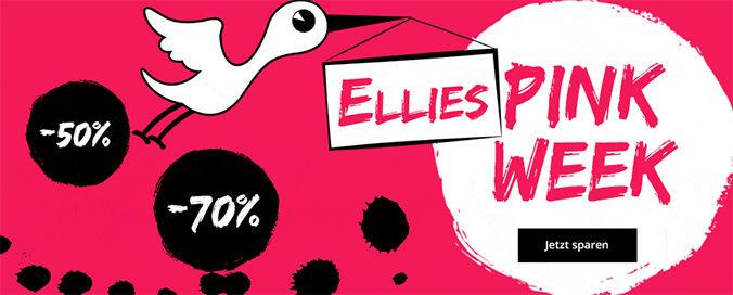 Pink Week Banner von windeln.de
