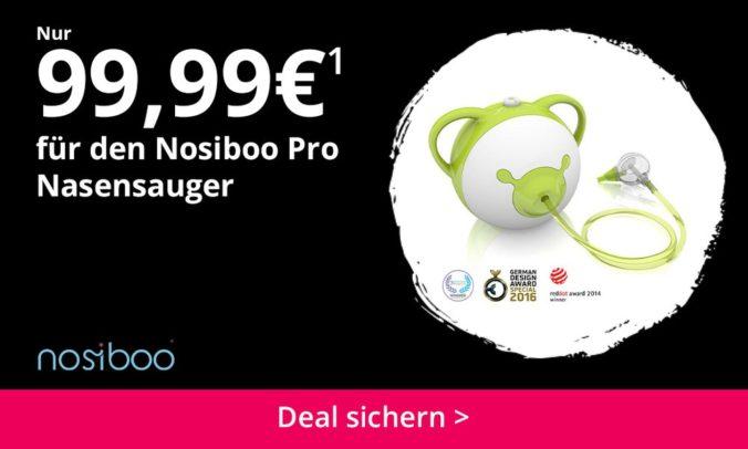 Nosiboo Nasensauger für Kinder