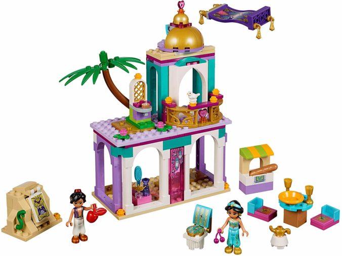 Lego Spielset Aladdins und Jasmins Palastabenteuer