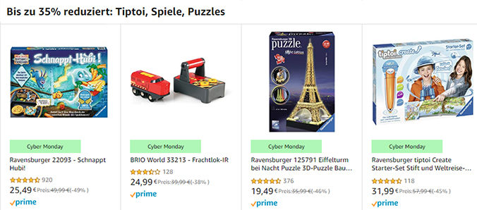 Tip Toi Rabattaktion von amazon
