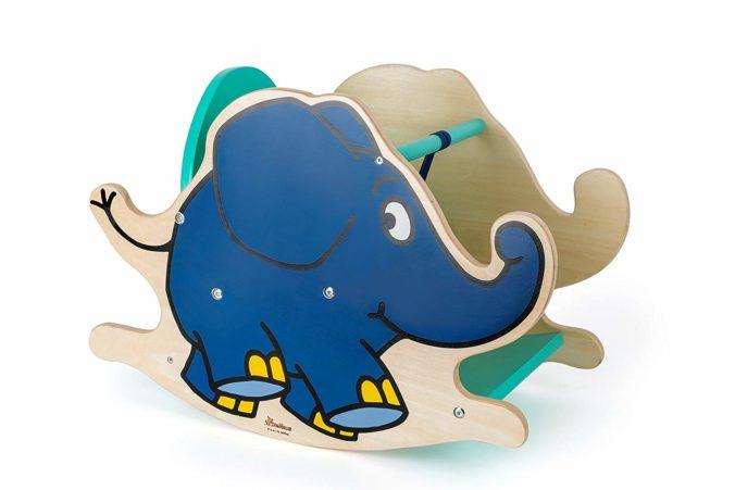 Schaukeltier Elefant aus Sendung mit der Maus