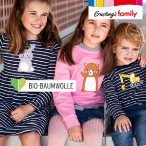 Ernsting's Family: Neue Kindermode ab 3,99€
