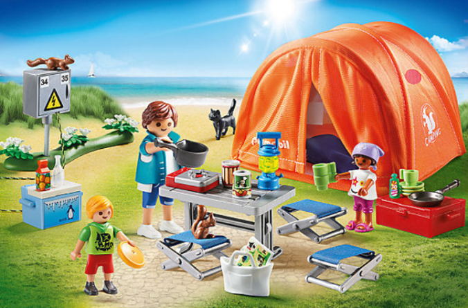 Playmobil Campingplatz