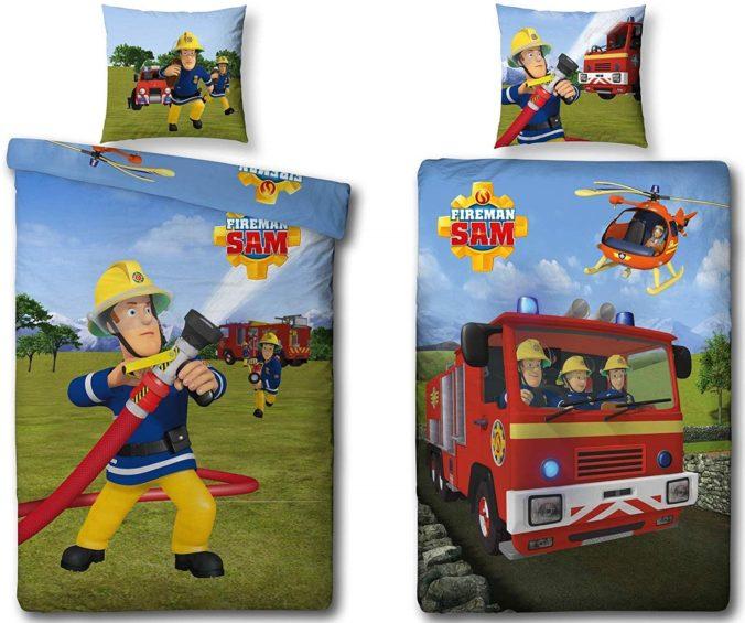 Wendebettewäsche mit Feuerwehrmann Sam