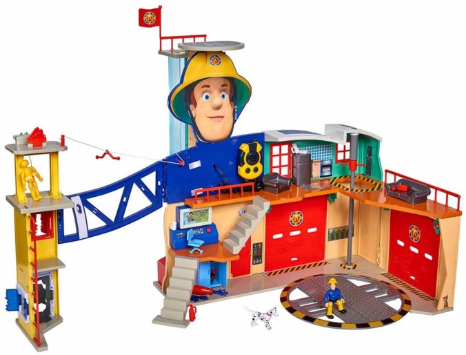 Feuerwehrstation für Kinder von Feuerwehrmann Sam