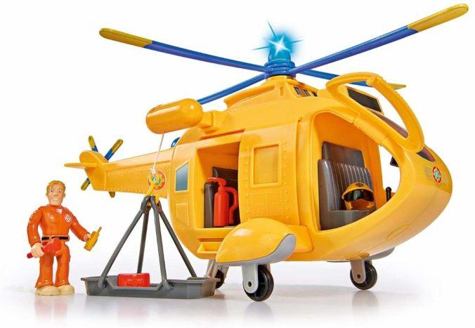 Spielzeughibschrauber von Feuerwehrmann Sam
