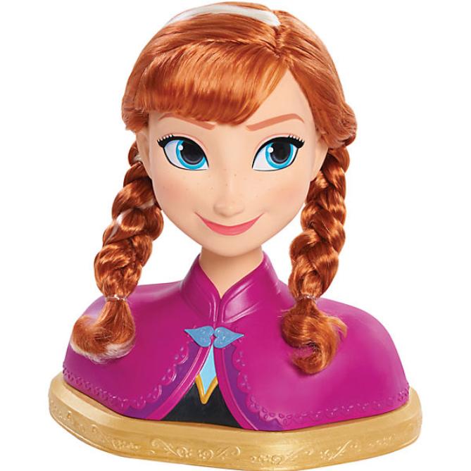 Frisierkopf Anna aus Die Eiskönigin