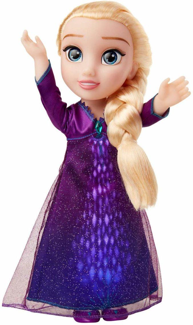 Frozen Funktionspuppe Elsa mit lila Kleid