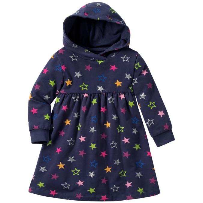 Babykleid mit Sternenprint