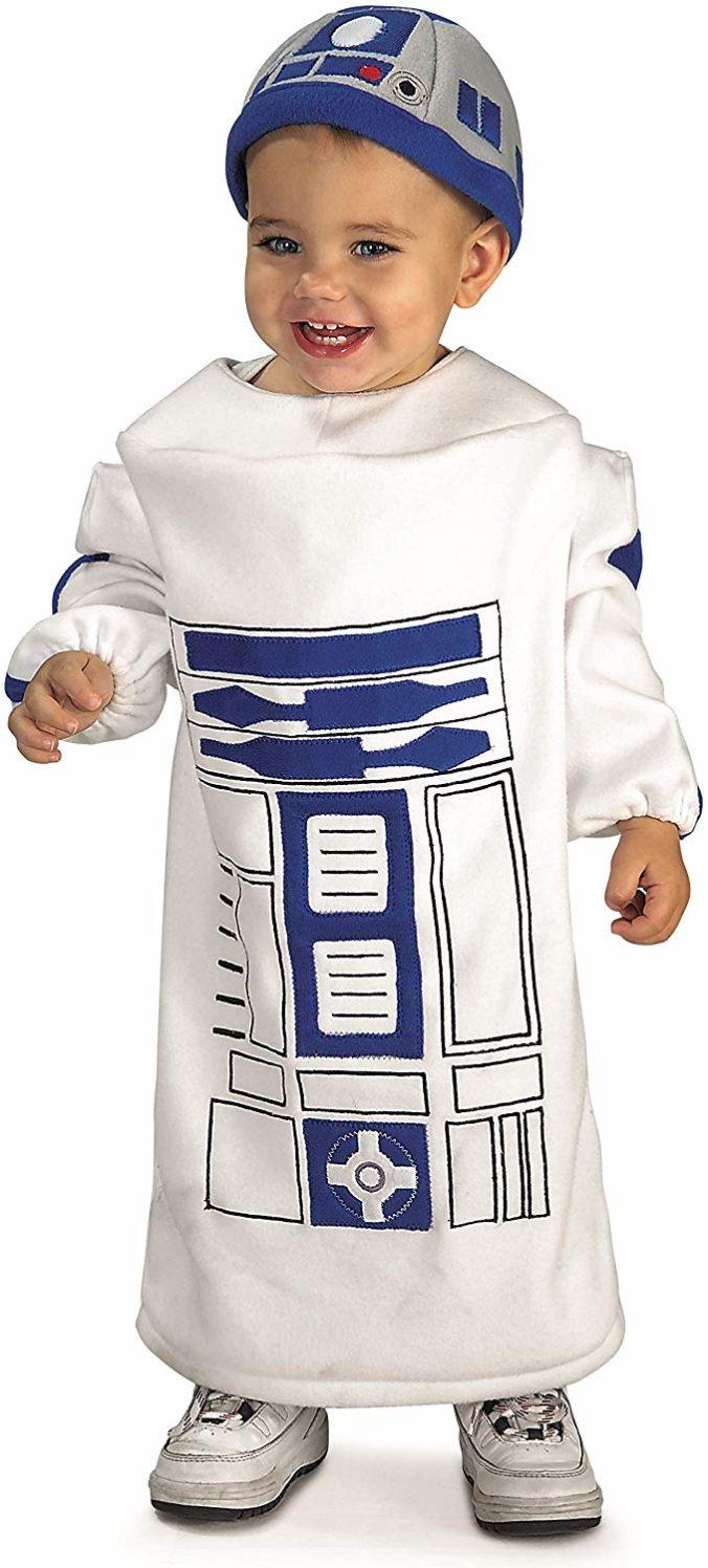 Star Wars Kostüm R2D2 für Kinder