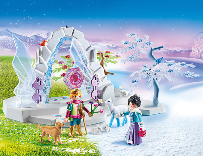 Playmobil Spielset Kristalltor zur Winterwelt