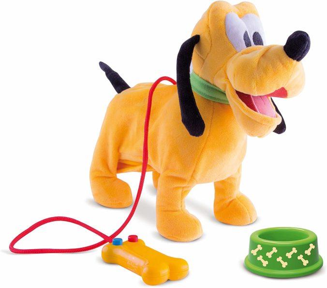 Laufender Plüschhund Pluto