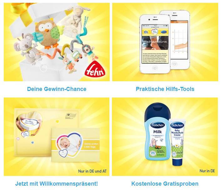 Nestlé Babyserivce Club Vorteile