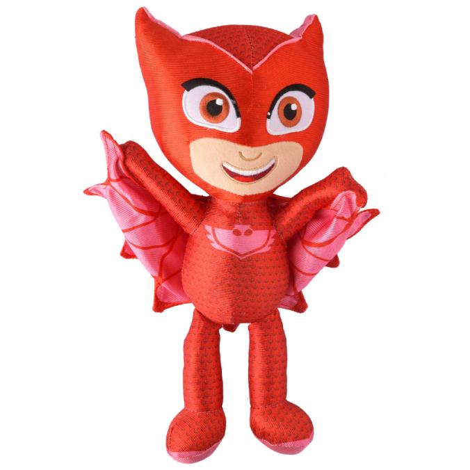 Rote PJ Mask Plüschfigur Eulette
