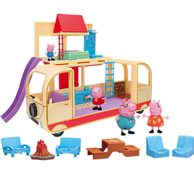 Peppa Spielzeug verwandelbares Wohnmobil