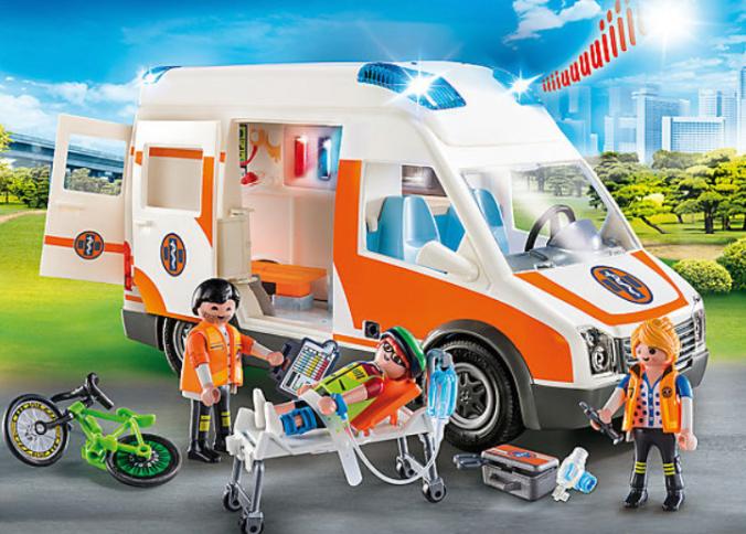 Playmobil Rettungswagen mit Zubehör
