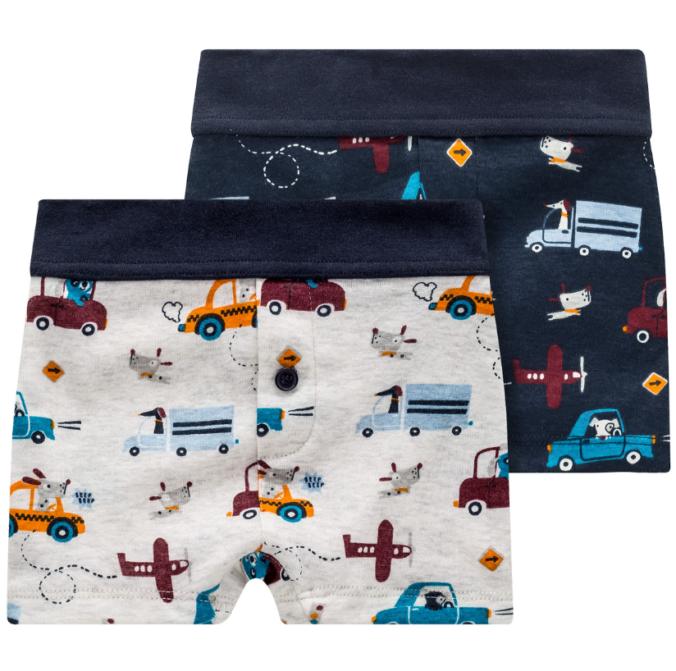 Unterhose mit Fahrzeugen für Jungen