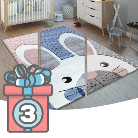 Adventskalender Türchen 3 Kinderzimmerteppich