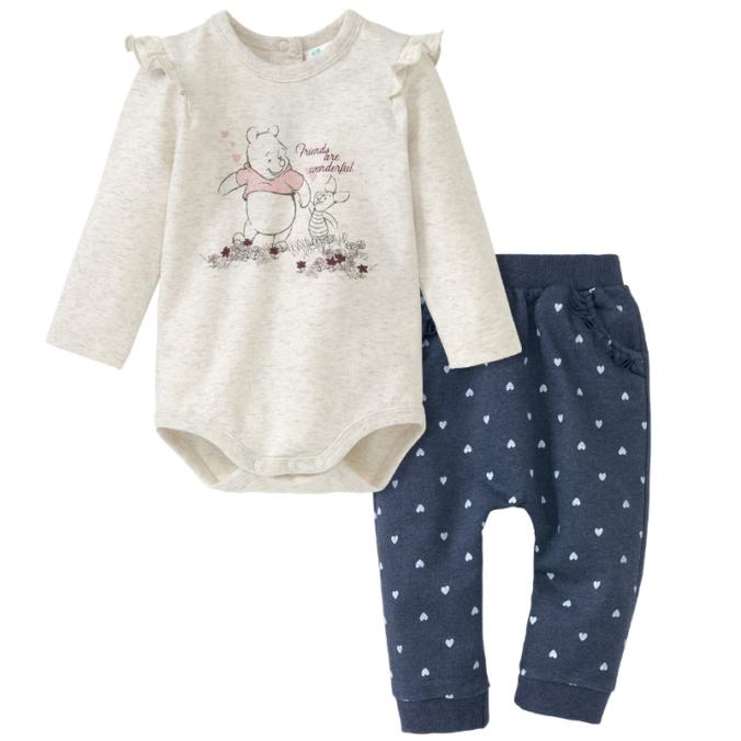Babybody und Hose im Winnie Puuh Design