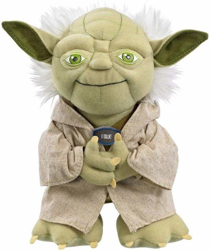 Star Wars Plüschfigur Yoda mit Sound