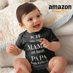 Amazon süße Baby Bodys mit witzigen Sprüchen