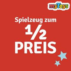 myToys Halber Preis