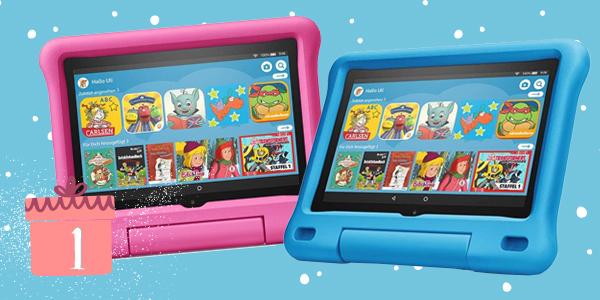 Adventskalender Türchen Nr.1 Amazon Kids Tablet